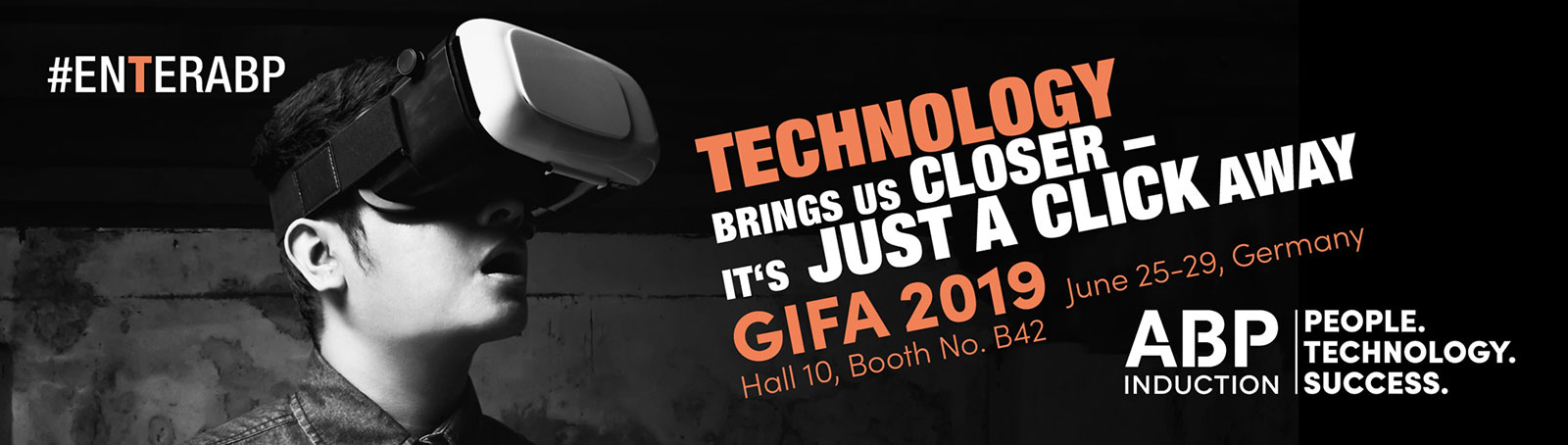 Technology brings us closer - ABP at the GIFA 2019